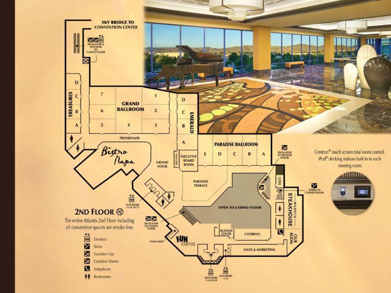 Atlantis 2nd Floor Plan color