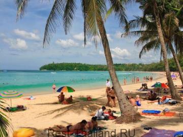 Пляж Ката в Тайланде