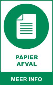 Papier afval