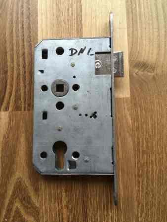 Einsteckschloss (Brandschutz) für Profilzylinder, DIN links