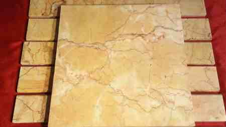 5 Paletten Marmor 100 Quadratmeter 40 x 40 cm 28 x 25 cm 61 x 8 cm Bordüren