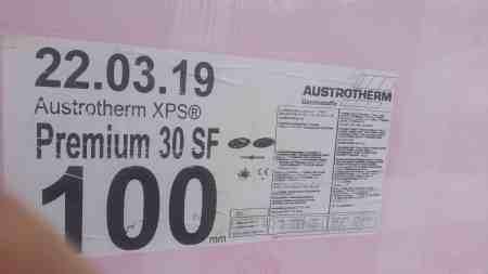 10 Platten = 7,5 m² AUSTROTHERM XPS PREMIUM 30 SF 100X600X1250MM WLG 0,027