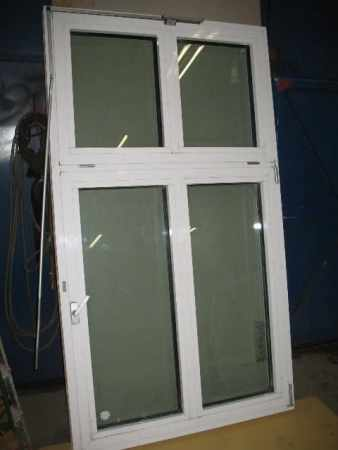 Alu-Fenster m. Panzerglas