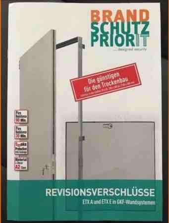 Priodoor ETX A Revisionstür Schachtwand F90 T90 1910x1410mm 2-flg