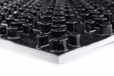 Voll-Noppenplatte 30-2 mm inkl. Wärme-Trittschalldämmung 8qm
