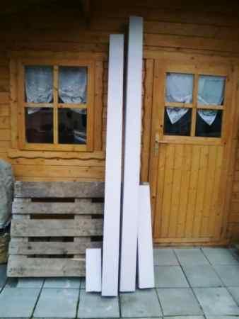 Neue Balken / Leimholzbalken / Brettschichtholz, 12 x 12 cm im Durchmesser,