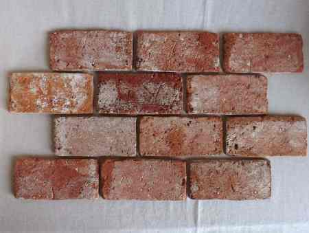Bodenziegel antik Mauerstein Bodenplatten Bodenfliesen Weinkeller Rückbausteine geschnitten Backsteine Ziegelsteine Terracotta Ziegelboden Industriestyle