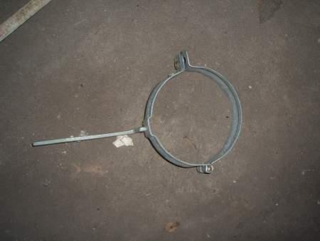 Zink Fallrohrschellen mit Schlagstift, Durchmesser 120mm
