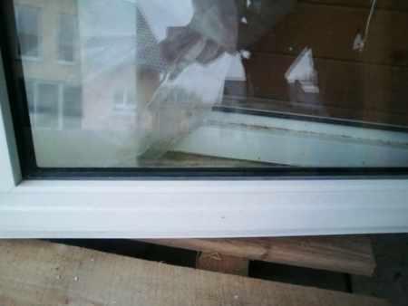 2flügliges weißes Kunststoff-Fenster von Denzlei