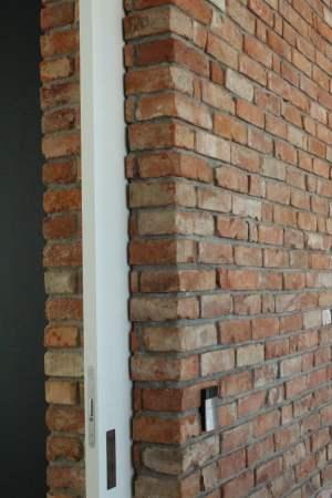 Ecksteine Eckriemchen Eckverblender Antikriemchen Ziegelriemchen alte Mauerziegel Verblender Backstein rustikal Loftoptik Industriestyle Steinwand Wandverkleidung Ziegelwand Fliesen