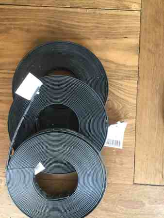 Montage-Lochband, Kunststoff ummantelt