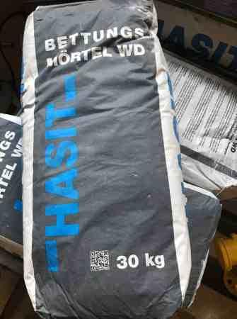 HASIT Bettungsmörtel WD (Wasserdurchlässig) zu je 30 kg