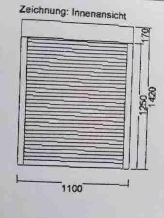 1 Außentür (D) 990×2010, 2 Fenster (DK) 1100×1250 – inkl. Rollläden