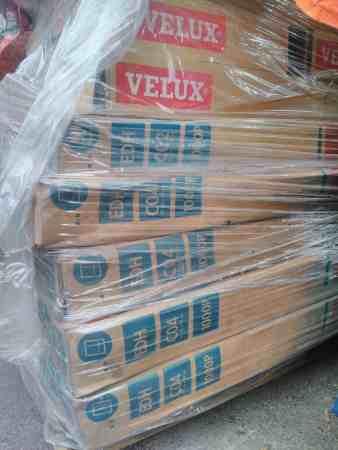 Konvolut VELUX Eindeckrahmen für Dachfenster Fenster Rahmen