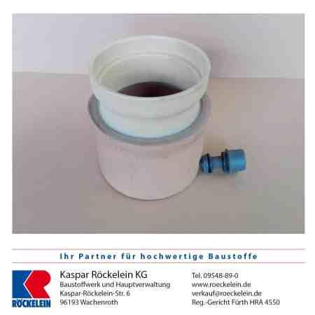 Kamin – Wassersammler – OSMOTEC isostat. 100 mm