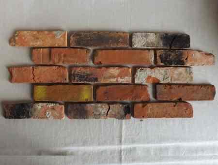 Antikriemchen Antik Riemchen Steinriemchen Altziegelverblender Mauerstein Ziegelriemchen Wandpanele Wandgestaltung Wandfliese