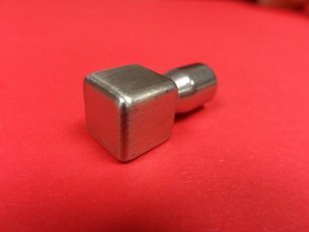 Eckstück Fliesenprofil Edelstahlschiene Quadro Edelstahl gebürstet 11 mm