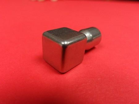 Eckstück Fliesenprofil Edelstahlschiene Quadro Edelstahl glanz 11 mm