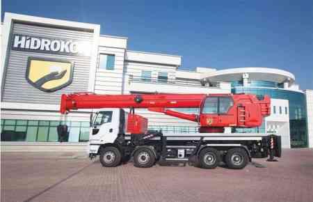 Mobile crane Hidrokon HK 90 33 T3 – 30 ton