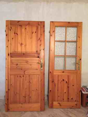 3 Holztüren