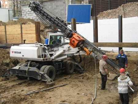 Used piling / drilling rig  ABI Mobilram TM 8/10