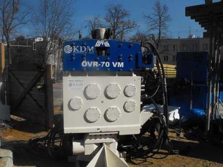 Vibro hammer OVR 70 VM