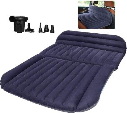 QDH SUV Air Mattress-Thickened Car Bed Back Seat Mattress