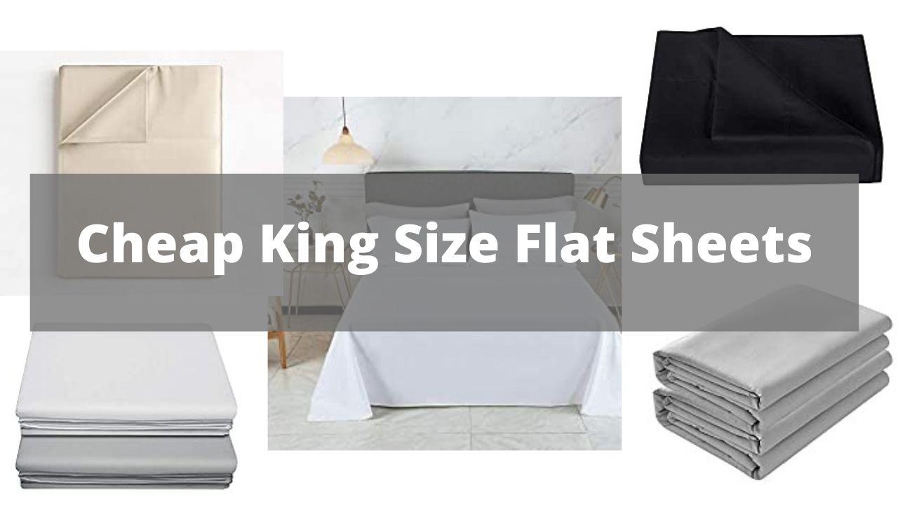 Cheap King Size Flat Sheets