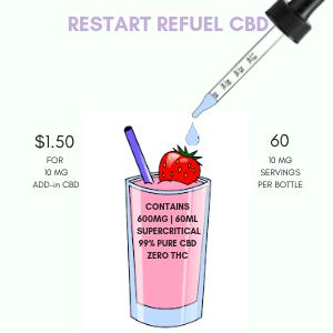 RESTART REFUEL CBD 600mg