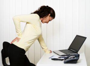 dureri de spate, șold și genunchi