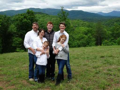 The Bomar Family at the Rest Ashured Property in Virginia