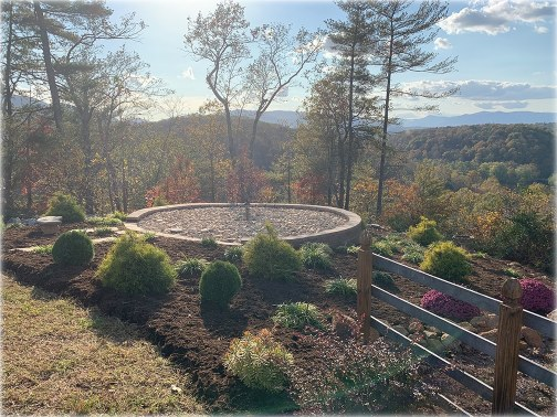 Image of Cremation scatter garden for ash spreading service in Central Virginia
