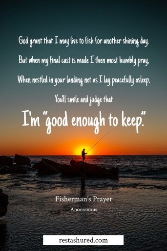 A Fisherman's Prayer Graphic