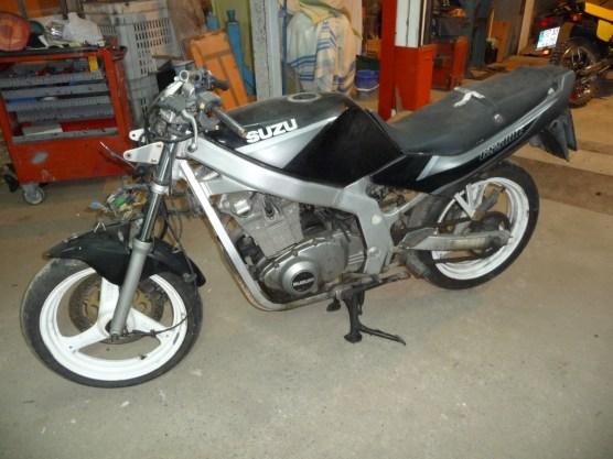 Recuperació de Suzuki GS 500