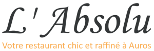 restaurant L'absolu