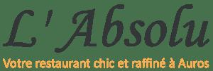 restaurant L'absolu