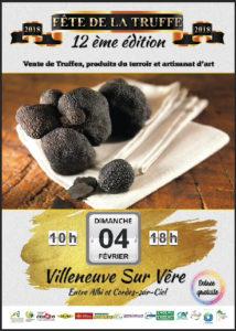 Fête de la Truffe à Villeneuve-sur-Vère