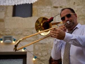 chez bernard gisquet Lou Cantoun Apéro concert _memory jazz band