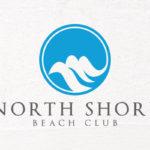North Shore Beach Club logo design