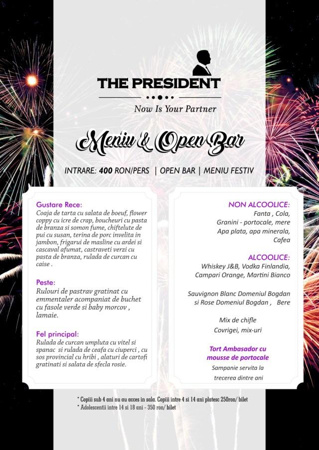 Revelion 2019 The President