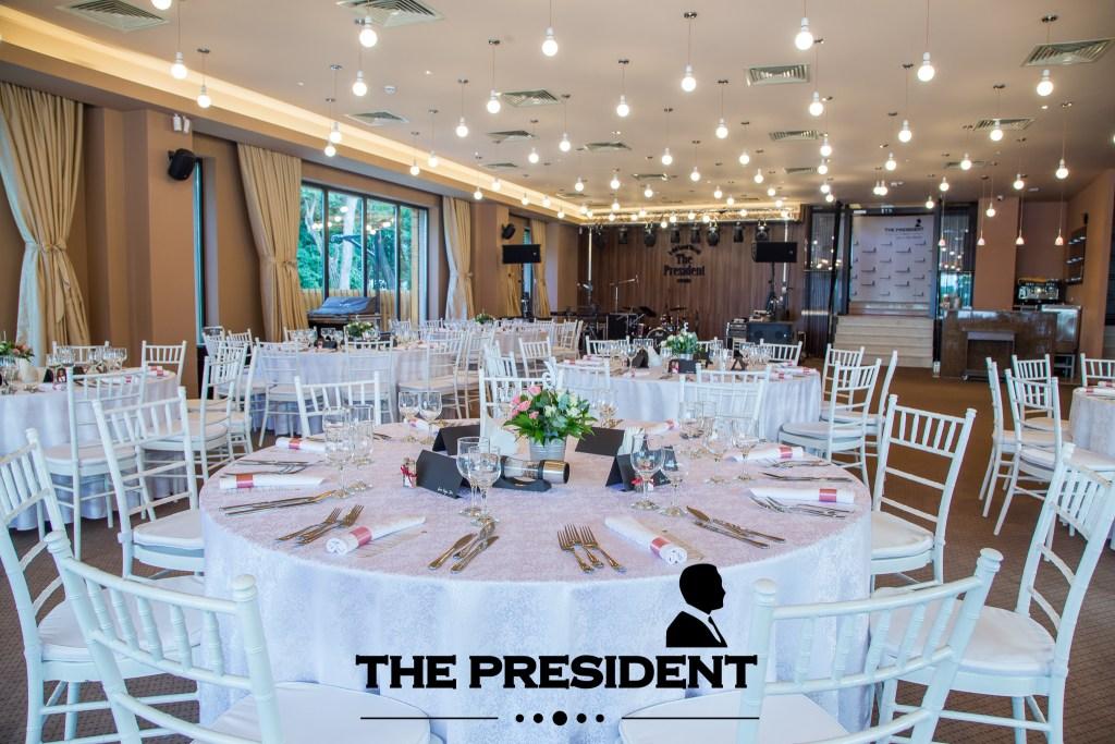 Petreceri corporate la The President – Craciun 2019