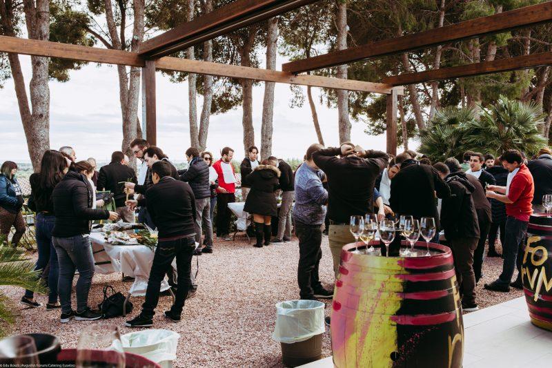 evento de empresa en augustus forum, por catering eusebio