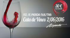 Restaurante Alejandro Cata de vinos