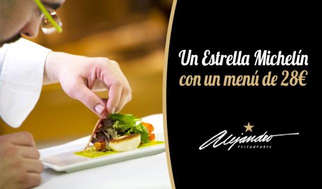 Estrella Michelin menú
