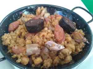 Migas cortijeras. Restaurantes de Córdoba Sociedad Plateros María Auxiliadora