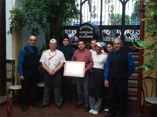 Restaurantes en Cordoba Restaurante Sociedad Plateros Maria Auxiliadora