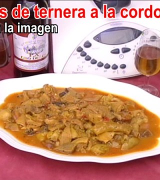 Video Callos de ternera a la cordobesa