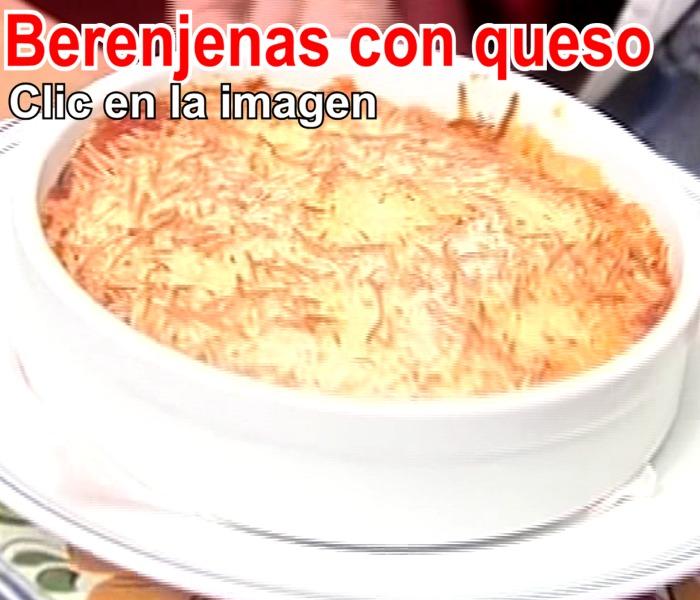Berenjenas con queso en le Restaurante de Cordoba Sociedad Plateros Maria Auxiliadora