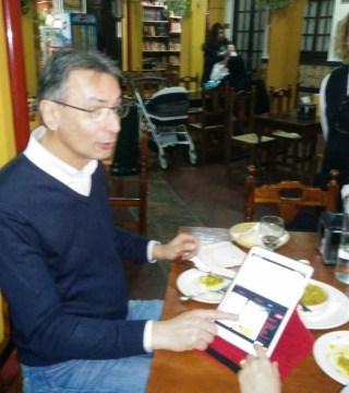 Carta digital en el Restaurante Sociedad Plateros de Cordoba le presentamos nuestra carta en formato digital con nuestro platos adaptados sin  gluten