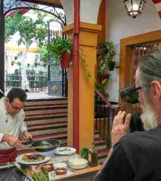 06-Puntas de solomillo sin gluten en el Restaurante Sociedad Plateros Maria Auxiliadora